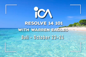 Bali: Resolve 14 101 for beginners